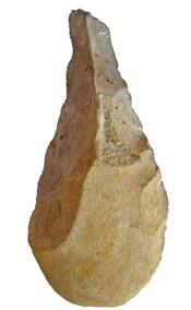 Biface - Biface found in the Observatory Cave. - MAPM Coll.