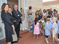 Back to school - On 12 September, 5849 pupils went back to school in the Principality and were welcomed by almost 453 teachers. In honour of the occasion, H.E. the Minister of State, accompanied by Paul Masseron, Minister of Interior and Isabelle Bonnal, Director of Education, Youth and Sport, made a surprise visit to FANB.