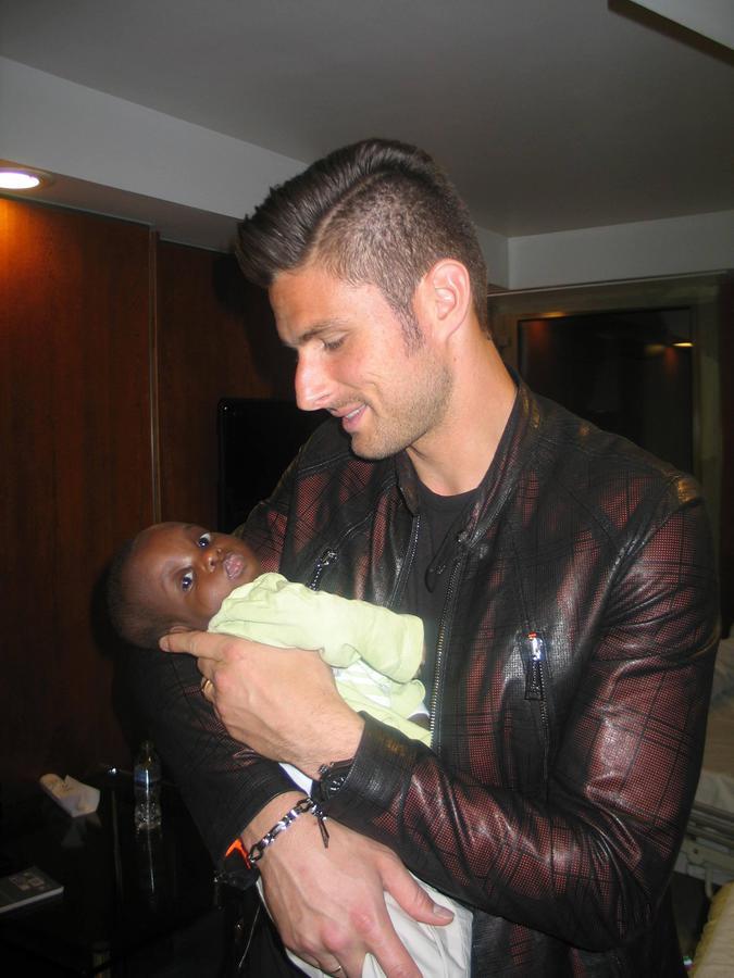 Olivier Giroud Monaco Humanitarian Collective Ambassador News