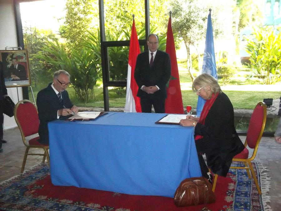 Renewal of the agreement between the princes government and the renewal of the agreement between the princes government and the united nations high commissioner for refugees in morocco platinumwayz