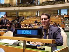 Cédric Braquetti ONU - Cédric Braquetti, Counsellor at the Permanent Mission of Monaco to the United Nations ©DR