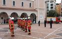 Cérémonie de remise de casques 1 - Ceremony to present helmets to young recruits of the Monaco Fire and Emergency Service ©DR