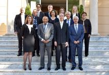 the Monegasque Committee for Regulated Professions - The first meeting was held with the Association of Accountants, and attended by other regulated professions.From front to back, left to right:-          1st row: Ms Anne-Marie BOISBOUVIER, Advisor in H.S.H. the Sovereign Prince's Cabinet; Mr Jean-Paul SAMBA, Chair of the Association of Accountants; Mr Gilles TONELLI, Minister of Foreign Affairs and Cooperation; Mr Franck BIANCHERI-          2nd row: Mr Jean-Michel HUGUES and Mr Patrick RAYMOND, architects; Ms Pascale TARAMAZZO and Mr Jean-Humbert CROCI, accountants; Ms Isabelle ROSABRUNETTO, Director General of the Ministry of Foreign Affairs and Cooperation-          3rd row: Mr Alexis BLANCHI, architect; Mr Roland BERTRAND, masseur and physiotherapist; Ms Isabelle COSTA, Europe Unit Leader; Ms Laura GREENWOOD, Head of Section, Ministry of Finance and Economy© Charly Gallo – Government Media Bureau