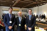 Voir la photo - The Monegasque delegation was comprised, from left to right, of:  Mr. Maxime Maillet, Administrator at the Department of Justice, Mr. Anselmi, Secretary of Justice, President of the Council of State, and Mr. Jean-Laurent Ravera, Head of the Department of International Law, Human Rights and Fundamental Freedoms at the Department of Legal Affairs. © - DR