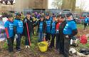 DTC  NYC Cares - Staff from the DTC's representative office in New York during Earth Day  ©DTC