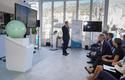 "FGENTA 5g - Fréderic Genta giving his speech - ""Thanks to 5G, we are working on launching driverless shuttles in Monaco in 2020,"" he also recalled. © Michaël Alesi – Government Communication Department"