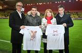 Fight Aids campagne 2018 - Hervé Aeschbach, Coordinateur Fight Aids Monaco ; Rony Lopes, joueur de l'AS Monaco ; Christine Barca, Secrétaire Général de Fight Aids Monaco et Louis Ducruet ©Direction de la Communication - Michael Alesi