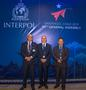 INTERPOL - CHILI 3 - The Monegasque delegation (from left to right):  Stéphane Giorgetti, Chief Constable, acting Head of the Criminal Investigation Division, Richard Marangoni and Commander Olivier Jude, Head of the International Cooperation Section. ©DR