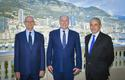 Voir la photo - Photo Caption:  H.S.H. the Sovereign Prince with Serge Telle, Minister of State, on the left, andH.E. Mr. Laurent Stefanini, the new Ambassador Extraordinary and Plenipotentiary of the French Republic to Monaco.  ©Government Communication Department/Stéphane Danna.