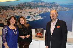 Marc Rosen - From left to right: H.E. Ms Isabelle Picco, Ambassador and Permanent Representative of Monaco to the United Nations; Mrs Nassrin Zahedi du Hospitality Committee  and Mr Marc Rosen © DR