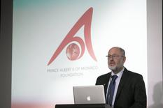 Monaco-Exhibition Opening for Prince ALbert II Foundation-  - Professor Tim Flannery – a Board Member of the Albert II Foundation ©DR