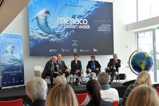 MOW2 - The second Monaco Ocean Week was presented by H.E. Mr. Bernard Fautrier, Vice-President of the FPA2, Robert Calcagno, Director General of the Oceanographic Institute, Isabelle Rosabrunetto, Director General of the Ministry of Foreign Affairs and Cooperation, Denis Allemand, Director of Monaco Scientific Centre and Bernard d'Alessandri, Director General and Secretary General of the Yacht Club of Monaco.Photo Credit: © Charly Gallo/Government Communication Department