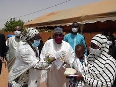 Opération Blanket feeding - Launch of the blanket feeding initiative in Niger © Adamou Issoufou