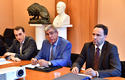 Voir la photo - Caption, from left to right: Rémy Rolland (Director of the State Property Authority), Albert Croesi (lead manager for the Minister of State on the Apolline issue) and Olivier Lavagna (Director of Public Works) - © - Government Communication Department / Charly Gallo