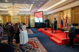 Réception diplomatique Moscou - The Ambassador of Monaco to Russia Hosts a Reception in Moscow in Honour of the National Day ©DR
