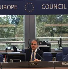 S.E.M. Remi Mortier GR EXT - H.E. Mr Rémi Mortier, Ambassador and Monaco's Permanent Representative to the Council of Europe, has been appointed to chair the Rapporteur Group on External Relations © DR
