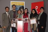 Sciences Po 2017 - Ms. Isabelle Rosabrunetto, Director General of Foreign Affairs and Cooperation, presenting prizes to the winners of the Solidarity Challenge:  a team of Moroccan students from the Sciences Po Paris-Middle East and Mediterranean Campus is being given a grant of EUR 12,000 to support access to employment for young people with disabilities in Morocco. ©DCI
